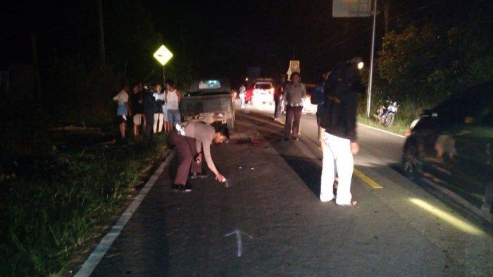 Jelang Pergantian Tahun, Pengendara Motor di Belitung ini Tewas, Tabrak Mobil Parkir Dipinggir Jalan