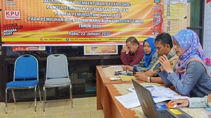 Pendaftaran Calon PPK di Kabupaten Belitung Timur Bakal Diperpanjang