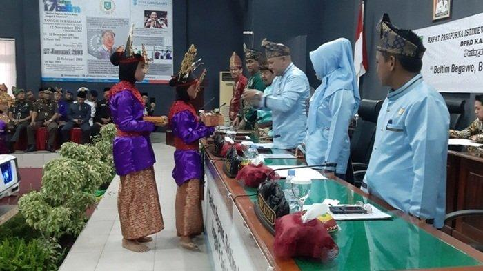 Rapat Paripurna HUT ke 17 Belitung Timur, Ketua DPRD: Semakin Banyak Tantangan
