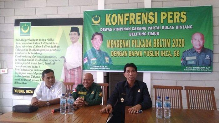Yuslih Ihza Maju Lagi ke Pilkada Belitung Timur