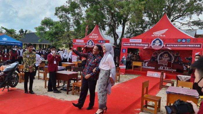 Burhanudin Buka Honda OSIS Challenge SMAN 1 Manggar 2021