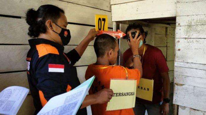 Setelah Lihat Aksi Sadis Santo Bunuh Kakek Aripin, Jaksa Siapkan Tiga Pasal, Maksimal Hukuman Mati