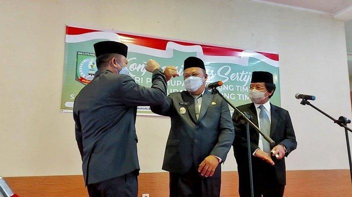 Wakil Bupati Khairil Anwar Terharu Hari Ini Mulai Bekerja untuk Rakyat Belitung Timur
