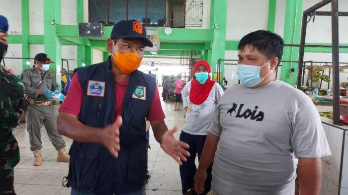 Pedagang Sarankan Pasar Manggar Disemprot Disinfektan Seminggu Sekali, Begini Kata Sekda