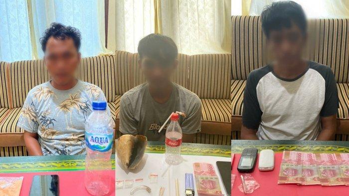 Terjerat Narkoba Polres Belitung Timur Ringkus 3 Pemuda, Dua Tersangka Pengedar, Sita Sabu 6,5 Gram