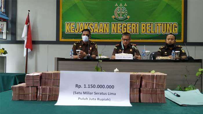 PT PAN Laksanakan Pidana Denda, Kejari Belitung Terima Rp 1,150 Miliar Perkara Reklamasi Ilegal