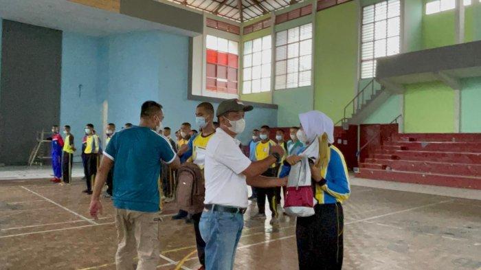 PPI Belitung Gelar Simulasi Latihan Gabungan Paskibra Sekolah tahun 2021 di Tengah Pandemi
