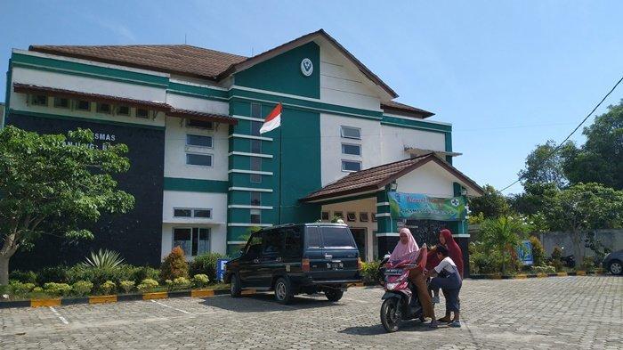 Bangunan Puskesmas Tanjung Binga, Senin (5/4/2021)