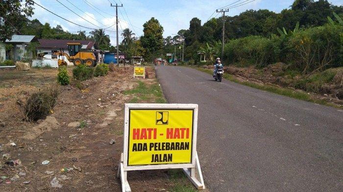 Kelebihan Paket Pelebaran Jalan Juction Membalong, Jalan Perawas Buding Diperlebar Satu Kilometer