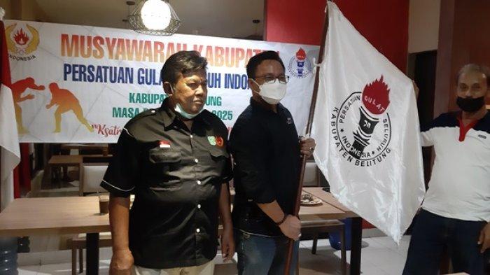Anggota DPRD Jabat Ketua PGSI Belitung, Mirza Anggap Sebagai Tantangan