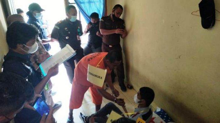 Polisi Reka Ulang Kasus Pembunuhan di Desa Aik Ketekok, Pelaku Habisi Korban di Tiga Adegan