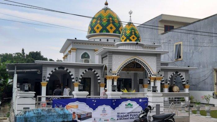 Masjid At Taqwa Belitung Usung Konsep Campuran Mediterania Hingga Nabawi