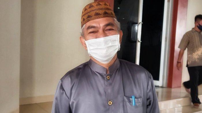 Pedagang di Pasar Divaksin Covid-19, Kepala Dinas KUKMPTK Belitung Berharap Imun Pedagang Meningkat