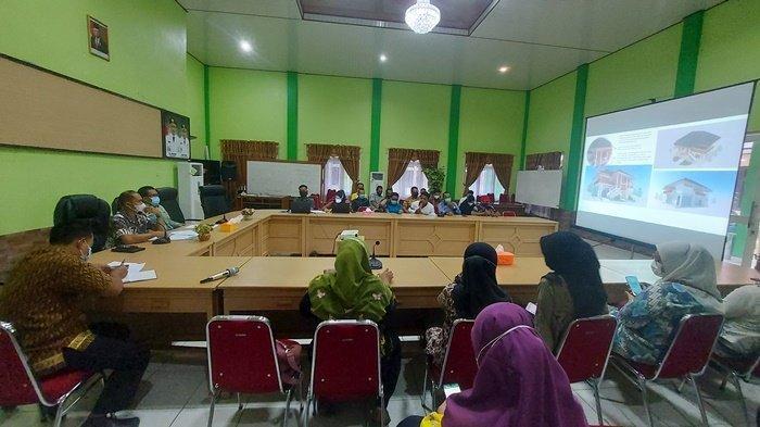 Bangun Galeri UMKM Bernama Tanjung Seloekat di Pantai Serdang, Pakai Dana APBN Rp 700 Juta