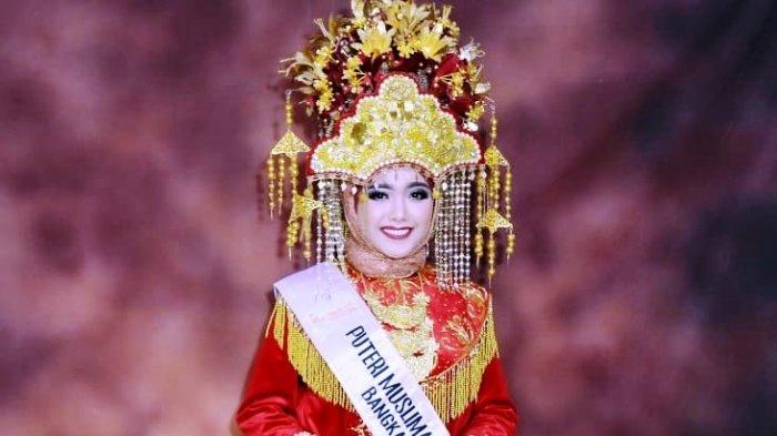 Sindi Atika Putri, Gadis Cantik Asal Belitung Wakili Babel di Ajang Puteri Muslimah Nusantara