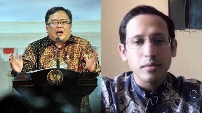 Nadiem Makarim dan Bambang Brodjonegoro, Siapa yang Bakal Diangkat Jadi Mendikbudristek?