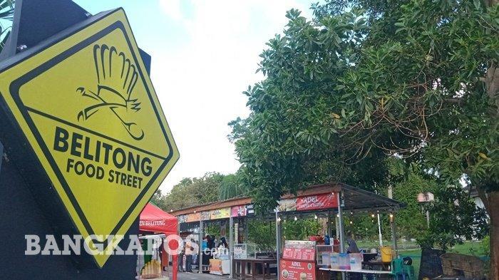 WIKI: Food Street Tempat Nongkrong Pesisir Pantai Tanjungpendam Belitung, Tersedia Berbagai Jajanan
