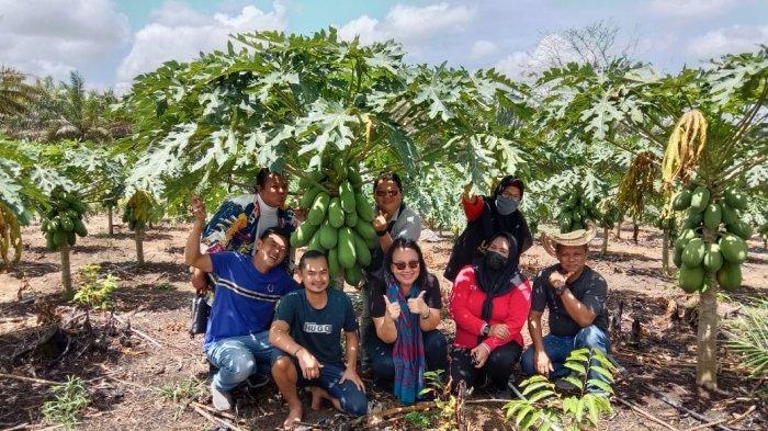 Andry Sukses Wujudkan Desa Bukit Layang jadi Desa Wisata Agro, ASPPI Bangka Belitung Berikan Support