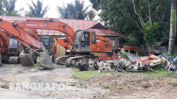 Bareskrim Mabes Polri Amankan Empat Unit Ekskavator di Belitung, Terkait Tambang Timah Ilegal