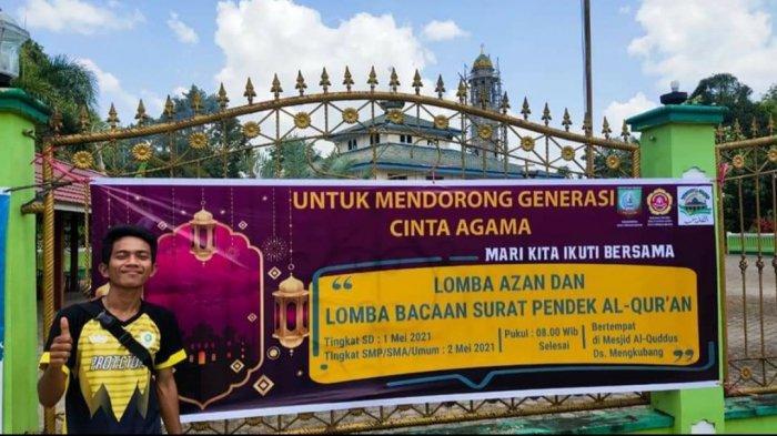Karang Taruna Desa Mengkubang Gelar Lomba Adzan dan Hafalan Surat Pendek