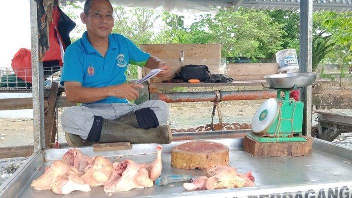Harga Ayam di Pasar Tanjungpandan Mulai Turun, Sudah Terjadi Sejak Satu Pekan Terakhir