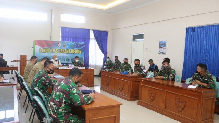 Asdep IV Bidang Koordinasi Pertahanan Negara Kemenko Polhukam Sambangi Pulau Belitung