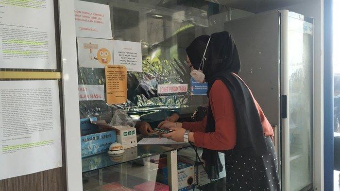 Jelang Larangan Mudik, Orang yang Antigen di Belitung Medical Center Mulai Menurun