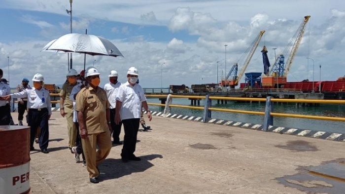 BUP PT Tanjung Batu Port Optimis Pelabuhan Tanjung Ru Jadi Sumber PAD, Begini Kata Iskandar