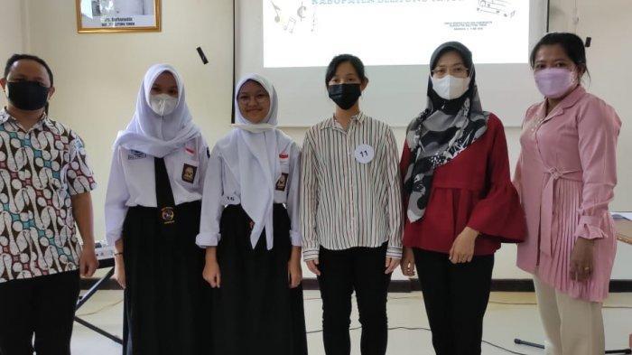 Empat Pelajar SMA Negeri 1 Manggar Juara Gita Bahana Nusantara, Wakili Beltim ke Provinsi Babel