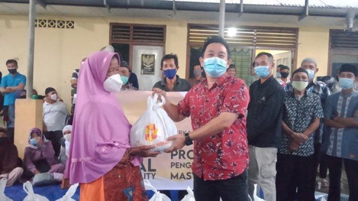 PT BHP, FTM dan SIS Salurkan Paket Kebutuhan Pokok, Bupati Belitung Timur: Patut Dicontoh