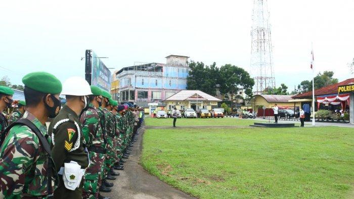 Polres Belitung Kerahkan 102 Personel Ops Ketupat Menumbing 2021
