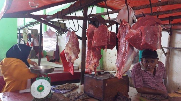 Harga Mahal, Emak-emak di Belitung Timur Pilih Tunda Beli Daging Sampai Usai Lebaran