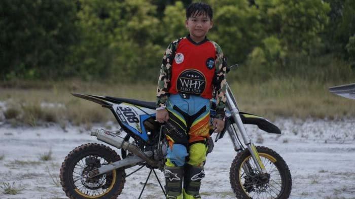 Ken Ken Sukses di Dunia Balap Motor Cross Sejak Usia 6 Tahun