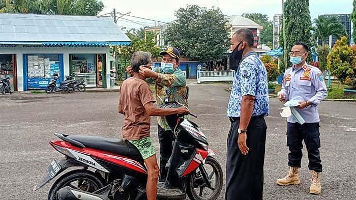 Pengguna Jasa Angkutan di Terminal Tanjungpandan Masih Ada yng Abai Prokes