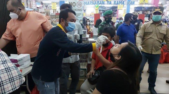 Tes Swab Antigen Acak di Manggar Belitung Timur, 97 Orang Negatif