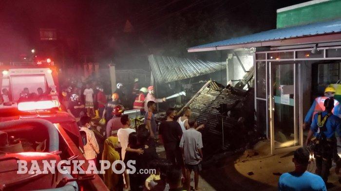 BREAKING NEWS: Ternyata Ini Penyebab Kebakaran di Toko Toni, Kerugian Ratusan Juta Rupiah