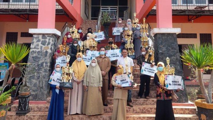 Perpustakaan Desa Cendil Jadi yang Terbaik di Belitung Timur, Hadiah Total Rp44,5 Juta