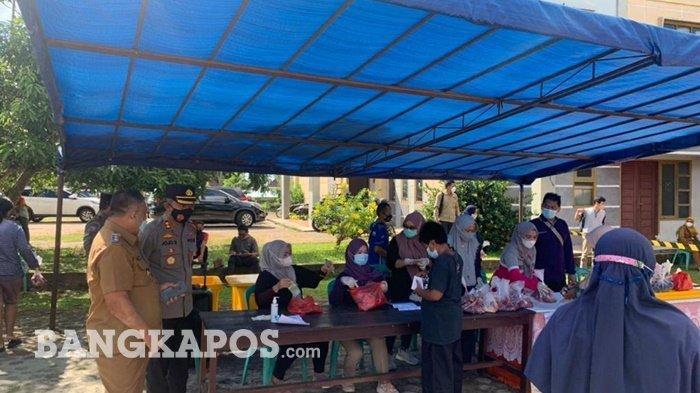 1.248 Kilogram Daging Sapi Subsidi Pemkab Belitung Timur Tersalur ke Masyarakat