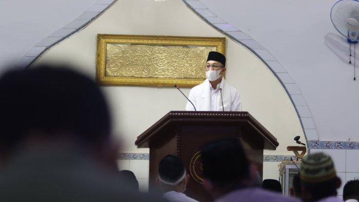 Bupati Burhanudin Ucapkan Selamat Idul Fitri 1442 H, Ingatkan Tetap Terapkan Prokes