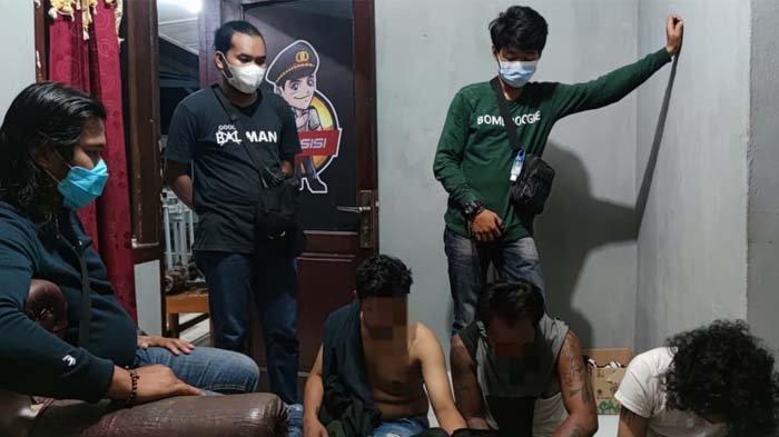 Satreskrim Polres Belitung Amankan Empat Pelaku Pencurian di Membalong
