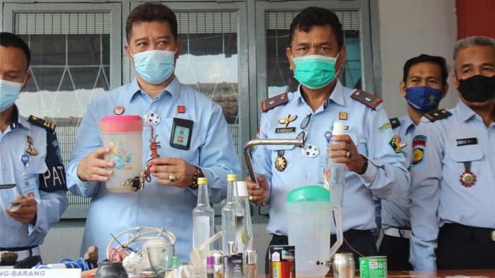 Baru Menginjakan Kaki di Belitung, Kadiv PAS Kanwil Kemenkum HAM Babel Sidak Lapas Tanjungpandan