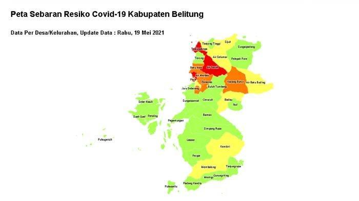 Masuk Zona Merah, Pemdes Klarifikasi 6 Kasus Covid-19 Bukan Warga Mentigi, Ini Penjelasannya