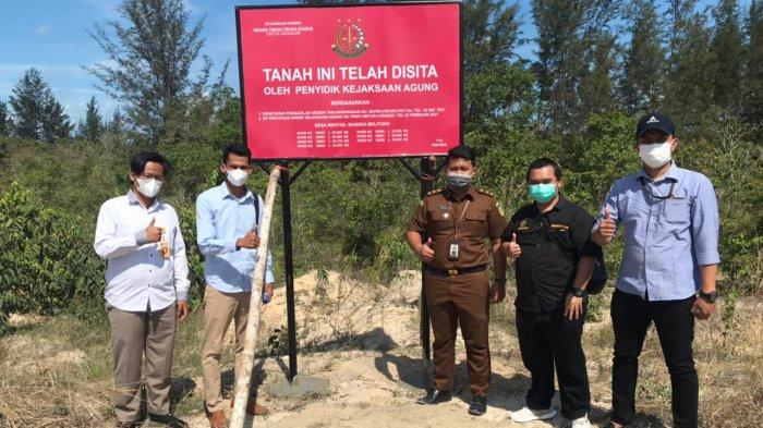 Aset Milik Heru Hidayat Tersangka Korupsi PT Asabri Di Belitung Berupa Lahan dan Lapangan Golf