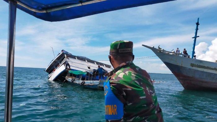 KM Harapan Kita Tabrak Bangkai Kapal Sebelum Tenggelam, Kapten dan Enam ABK Selamat - 20210531-kapal-tenggelam2.jpg