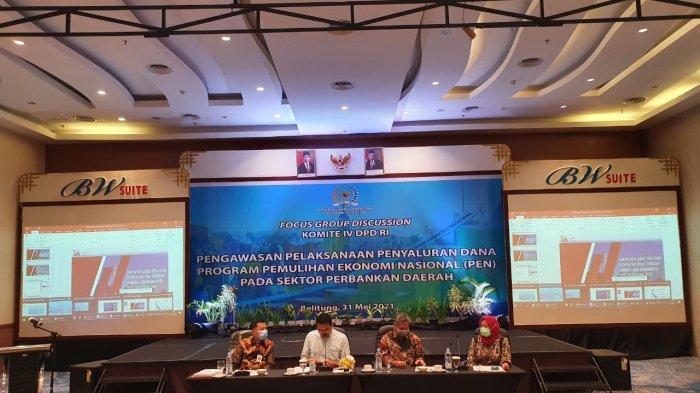 Kemenkeu Alokasikan Dana PEN 2021 Rp 699,43 Triliun, KPPN Tanjungpandan Turut Kawal Bersama DPD RI