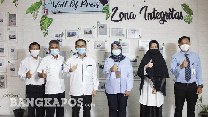 Persiapkan WBK/WBBM, RSUD Marsidi Judono Lakukan Benchmarking Ke KPPN Tanjungpandan