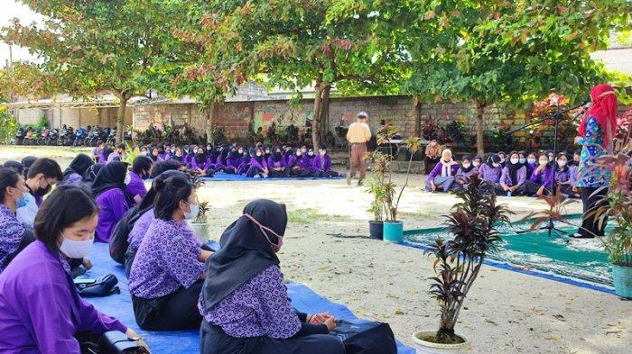 Lulus Sekolah, Siswa SMK Negeri 3 Tanjungpandan Ini Langsung Bekerja