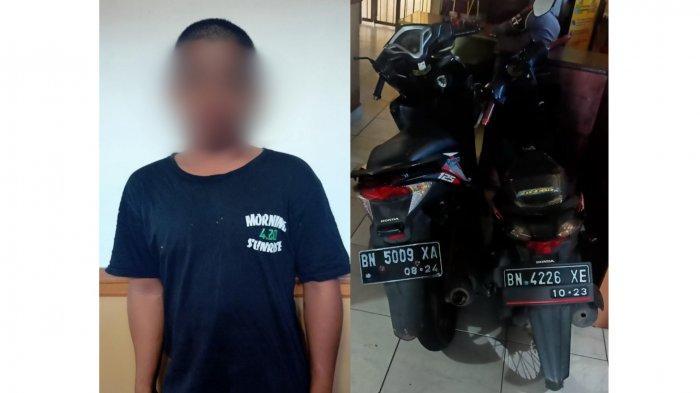 Dalam Sehari Maling Dua Motor, Anak Usia Bawah Umur Ditangkap Polisi