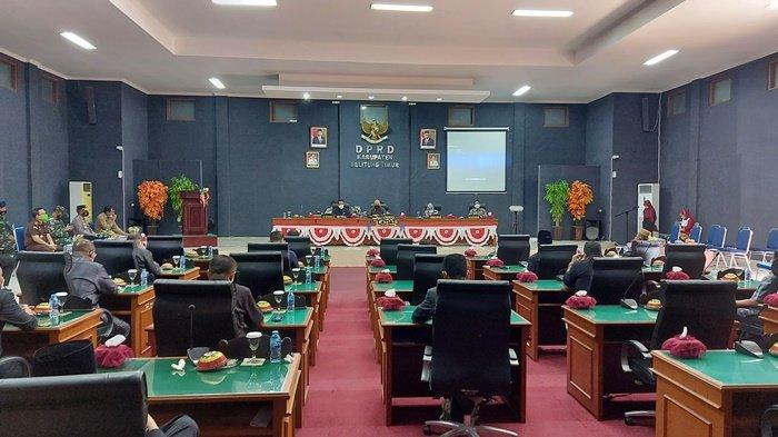 DPRD Sampaikan Rekomendasi kepada Pemkab Belitung Timur Hasil Pansus Soal Polemik PT MASJ