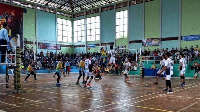 Basecame Kantongi Tiket ke Semifinal di Kejuaraan Bola Voli Piala Gubernur Bangka Belitung
